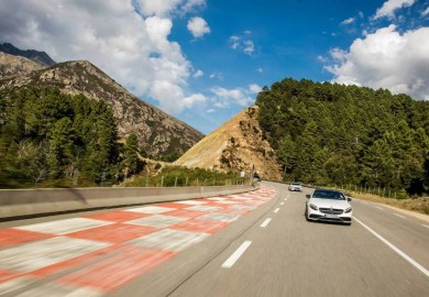 "AMG Driving Academy ""Emotion Tour"" Goes Around Corsica"