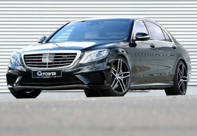 Mercedes-Benz S63 AMG Tuned By G-Power