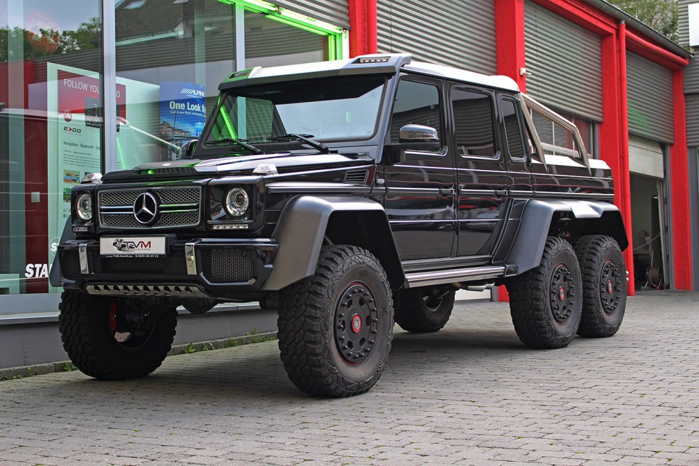 Rare 2015 Mercedes Benz G63 Amg 6 6 Available For Sale In Germany