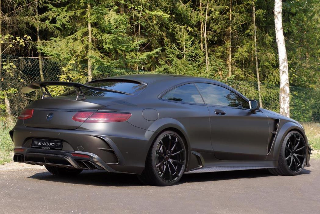 Mercedes-AMG S63 Coupe Black Edition Unveiled By Mansory