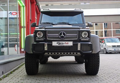 Rare 2015 Mercedes-Benz G63 AMG 6×6 Available For Sale In Germany