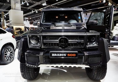 Brabus Tunes Mercedes G500 4x4² And G63 AMG