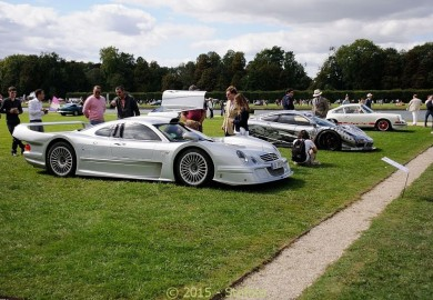 Mercedes-Benz CLK GTR Spotted At Chantilly 2015