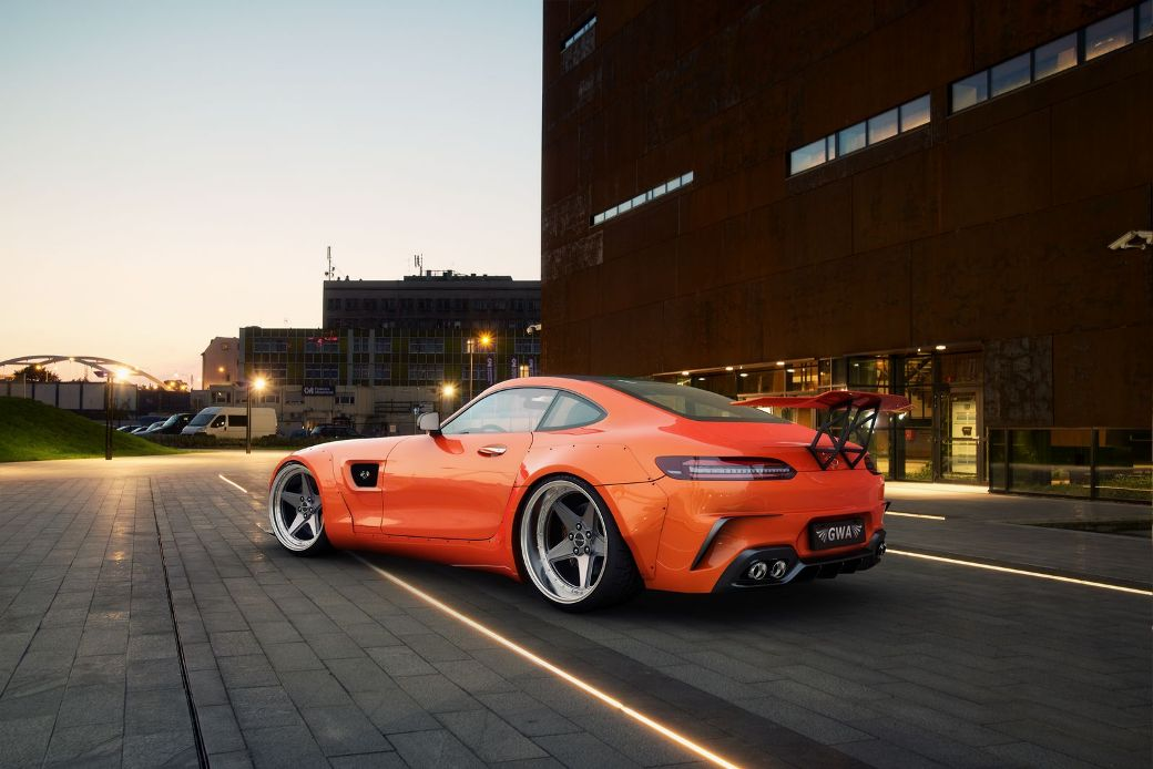 Cool Widebody Kit Rendered By Gwa For Mercedes Amg Gt S