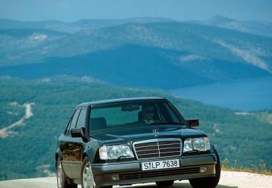 25th Anniversary Of Mercedes-Benz 500 E Celebrated