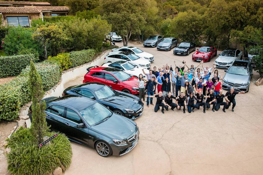 Amg Driving Academy Emotion Tour Goes Around Corsica