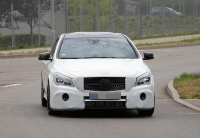 Latest Spy Shots Of The Updated Mercedes-Benz CLA Shooting Brake