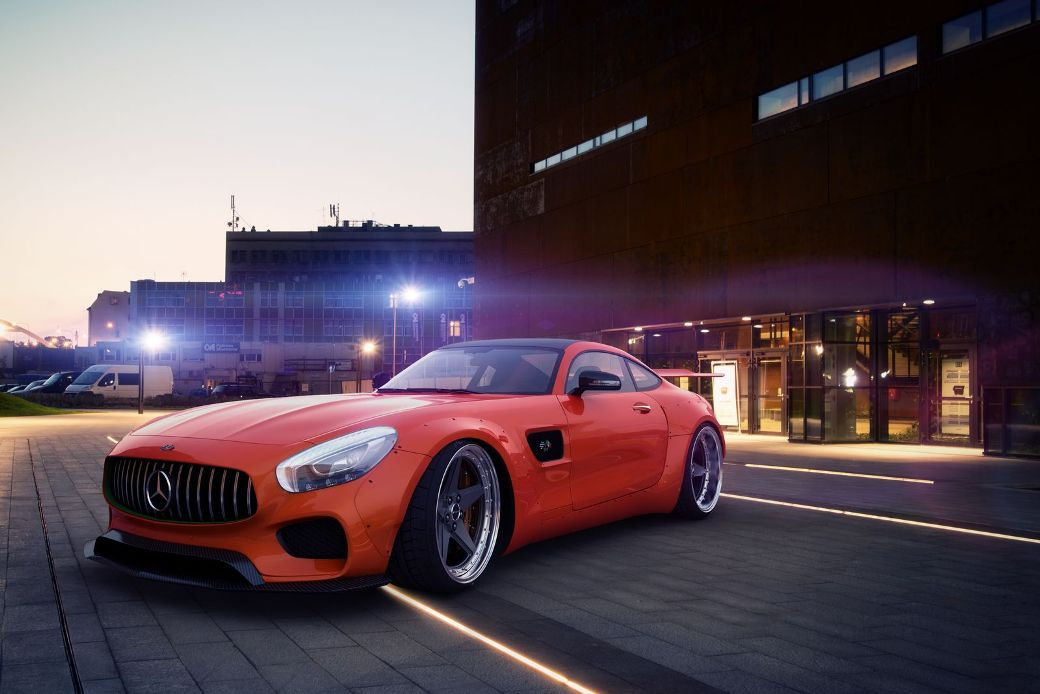 Cool Widebody Kit Rendered By GWA For Mercedes-AMG GT S ...