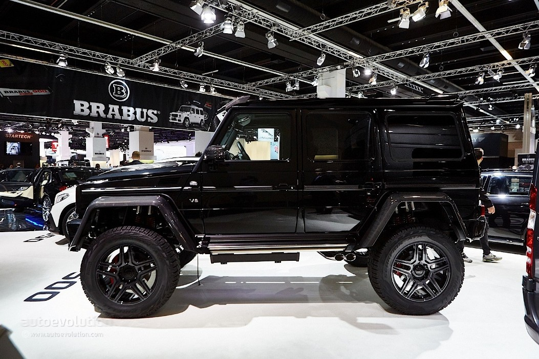 brabus tunes mercedes g500 4x4 and g63 amg a mercedes benz fan blog. Black Bedroom Furniture Sets. Home Design Ideas