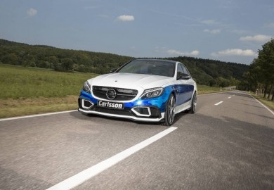 Mercedes-AMG C63 S Transformed Into The Carlsson CC63S Rivage