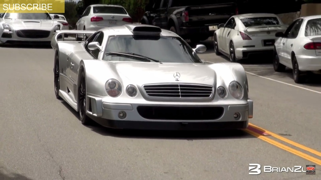 Mercedes Benz CLK GTR Spotted During The Monterey Car Week 2015