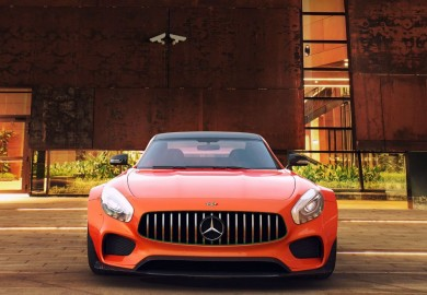 Cool Widebody Kit Rendered By GWA For Mercedes-AMG GT S