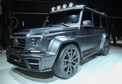Mansory Turns A Mercedes-Benz G63 AMG Into The Gronos G63 AMG Black Edition