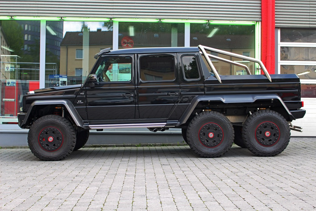 Rare 2015 Mercedes-Benz G63 AMG 6×6 Available For Sale In ...
