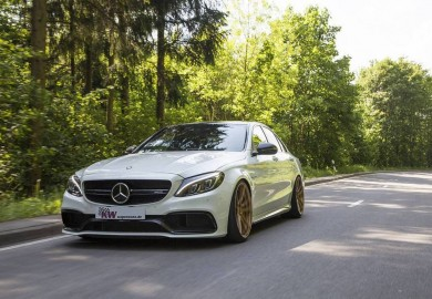 KW Suspension Provides High-End Coilovers To Mercedes-AMG C63 S