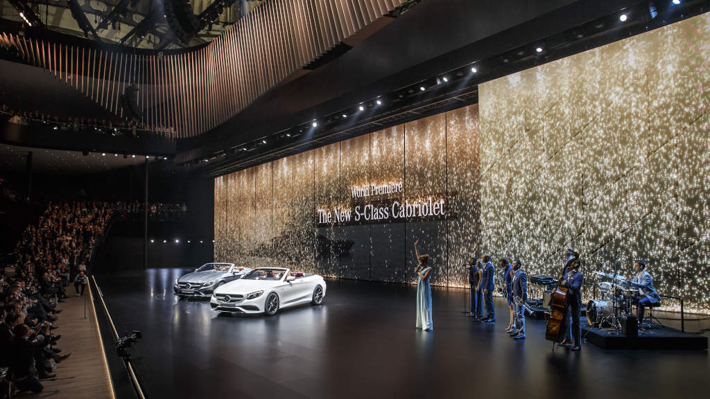 Mercedes benz showcases five new products in frankfurt for Mercedes benz frankfurt