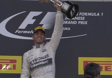 Mercedes Lewis Hamilton wins Japanese Grand Prix