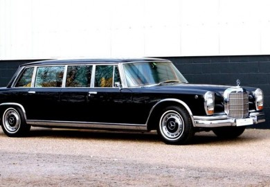 The 1976 Mercedes 600 Pullman-Grosser (1)