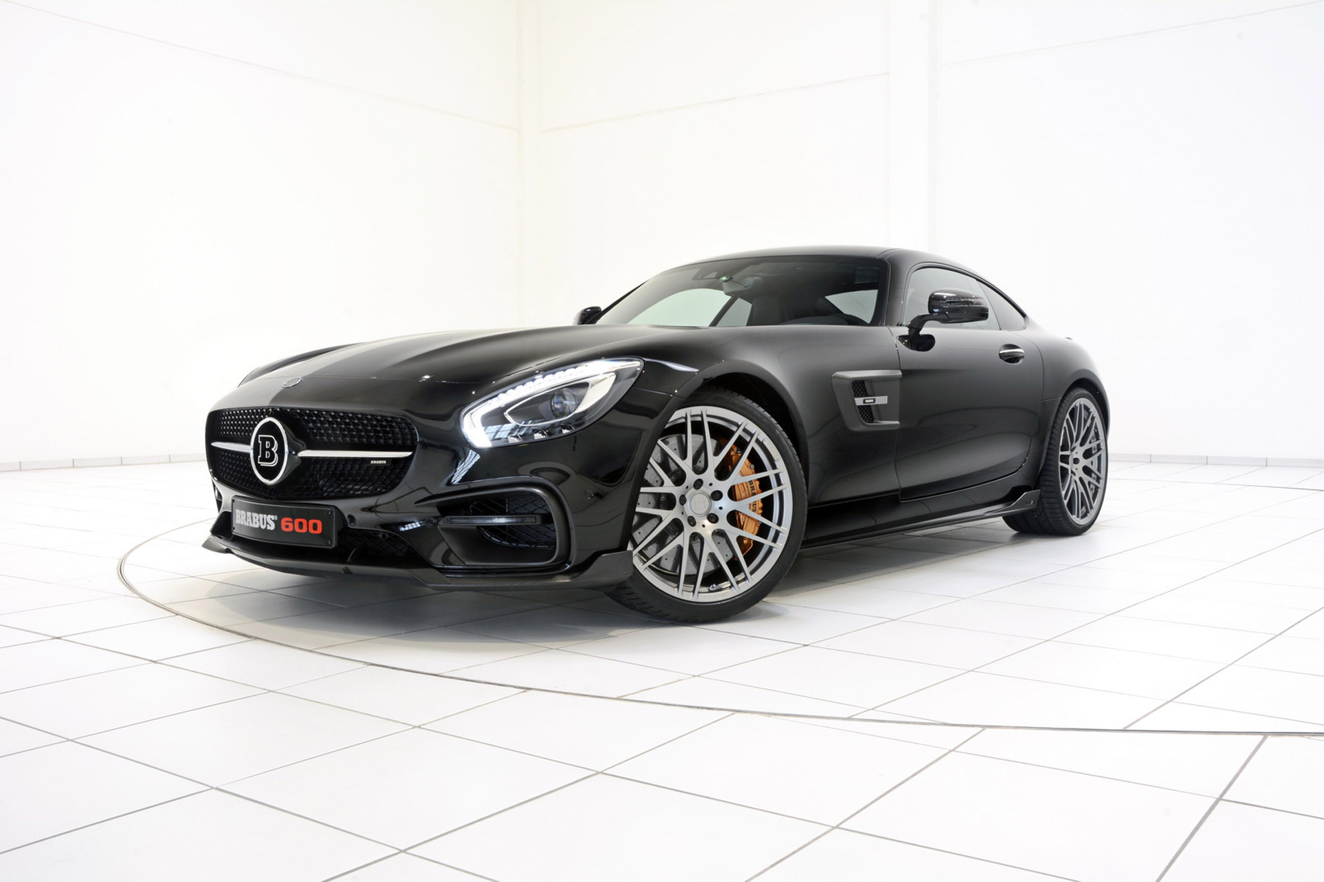 Brabus Gives the Mercedes-AMG GT S 600 HP - BenzInsider ...