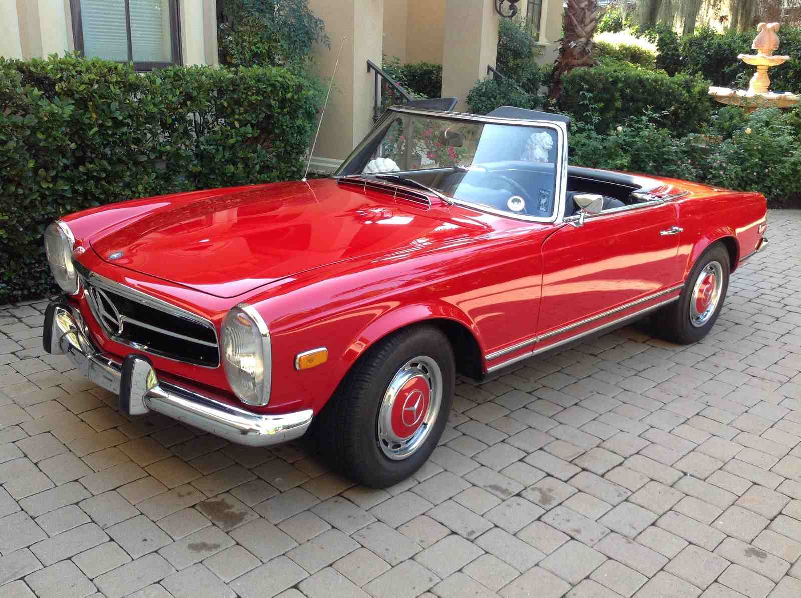 Mercedes Gl E >> 1971 Mercedes-Benz 280 SL Spotted on eBay - BenzInsider.com - A Mercedes-Benz Fan Blog