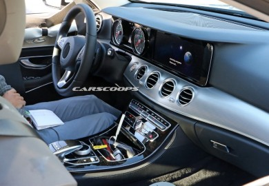 Images Of 2017 Mercedes-Benz E-Class Wagon Interior Emerge