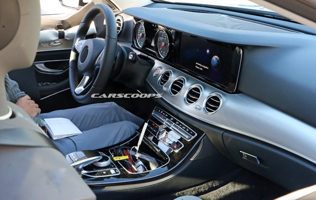 Images Of 2017 Mercedes Benz E Class Wagon Interior Emerge