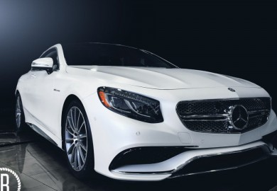 Mercedes-Benz S63 AMG Coupe Photo Shoot Using An iPhone 6