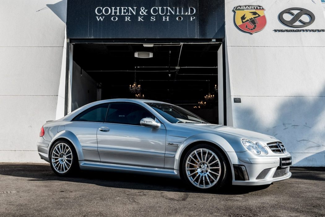 mercedes benz clk63 amg black series available though cohen cunild a. Black Bedroom Furniture Sets. Home Design Ideas