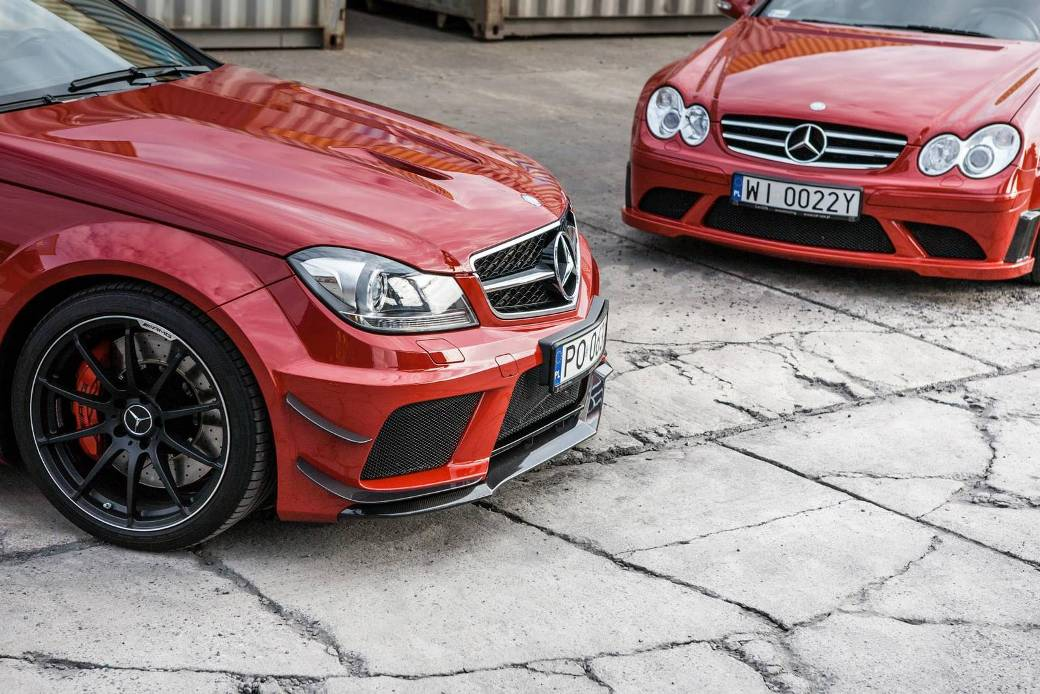 Appeal Of Mercedes-Benz C63 AMG and CLK63 AMG Black Series Displayed In A Photo Shoot