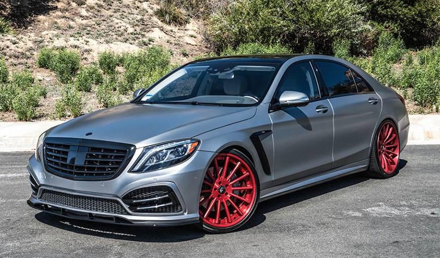 Forgiato Wheels Tunes Mercedes-Benz S550 - BenzInsider.com ...
