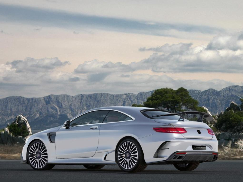 Mercedes benz s63 amg coupe tuned by mansory again for Mercedes benz amg range