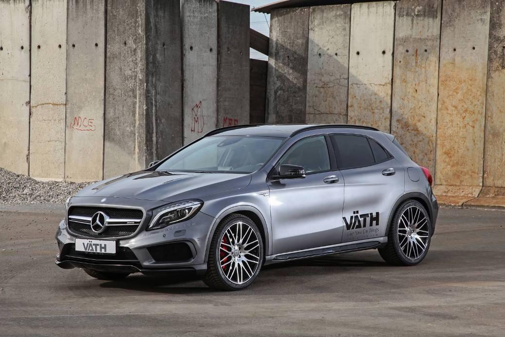 Mercedes Benz Gla45 Amg Tuned By Vath Benzinsider Com