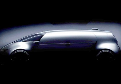 Vision Tokyo Minivan Concept Teased By Mercedes-Benz
