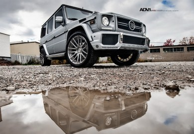 Brabus Tuned-Mercedes-Benz G63 Features Brushed Gunmetal