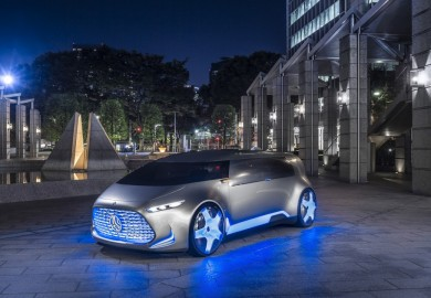 Mercedes-Benz Vision Tokyo Concept Vehicle Officially Unveiled