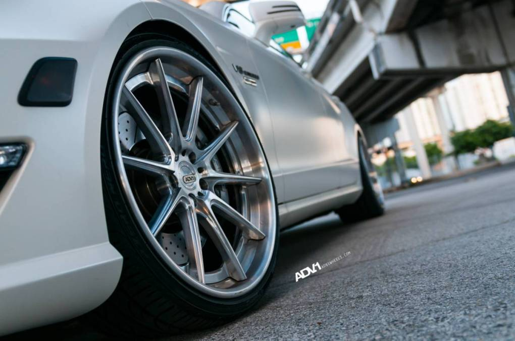 Mercedes-Benz CLS63 AMG Gets Another Set Of ADV.1 Wheels