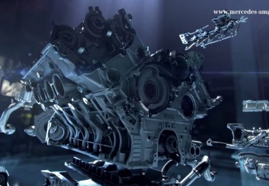 Video Highlights New Twin-Turbo 4.0-liter V8 Engine Of Mercedes-AMG