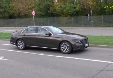Video Of Barely Covered Mercedes-Benz E-Class Emerges