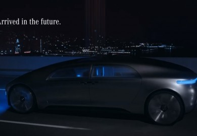 Back To The Future With The Mercedes-Benz F 015 Luxury in Motion Concept