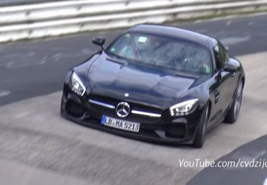 Video Shows Mercedes-AMG Range Doing The Rounds On The Ring