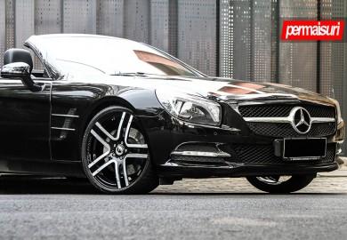 Mercedes-Benz SL 350 Given Forgiato Wheels By Permaisuri
