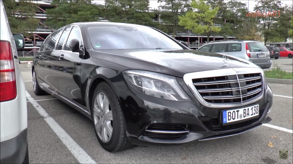 Video Shows Mercedes-Maybach S600 Pullman Test Vehicle In Germany