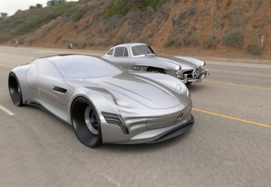 Futuristic Mercedes-Benz Concept Vehicle Created By German Designer