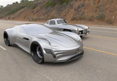 Futuristic Mercedes-Benz Concept Vehicle Created By German Designer