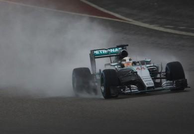 Mercedes F1 Lewis Hamilton 2015 US Grand Prix