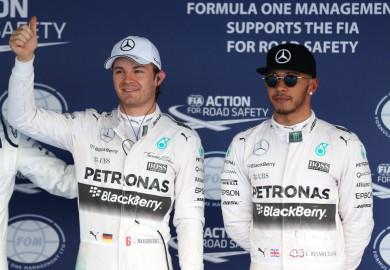 Mercedes F1 Nico Rosberg Lewis Hamilton Russian Grand Prix Sochi