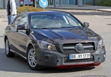 facelifted mercedes-benz cla (1)