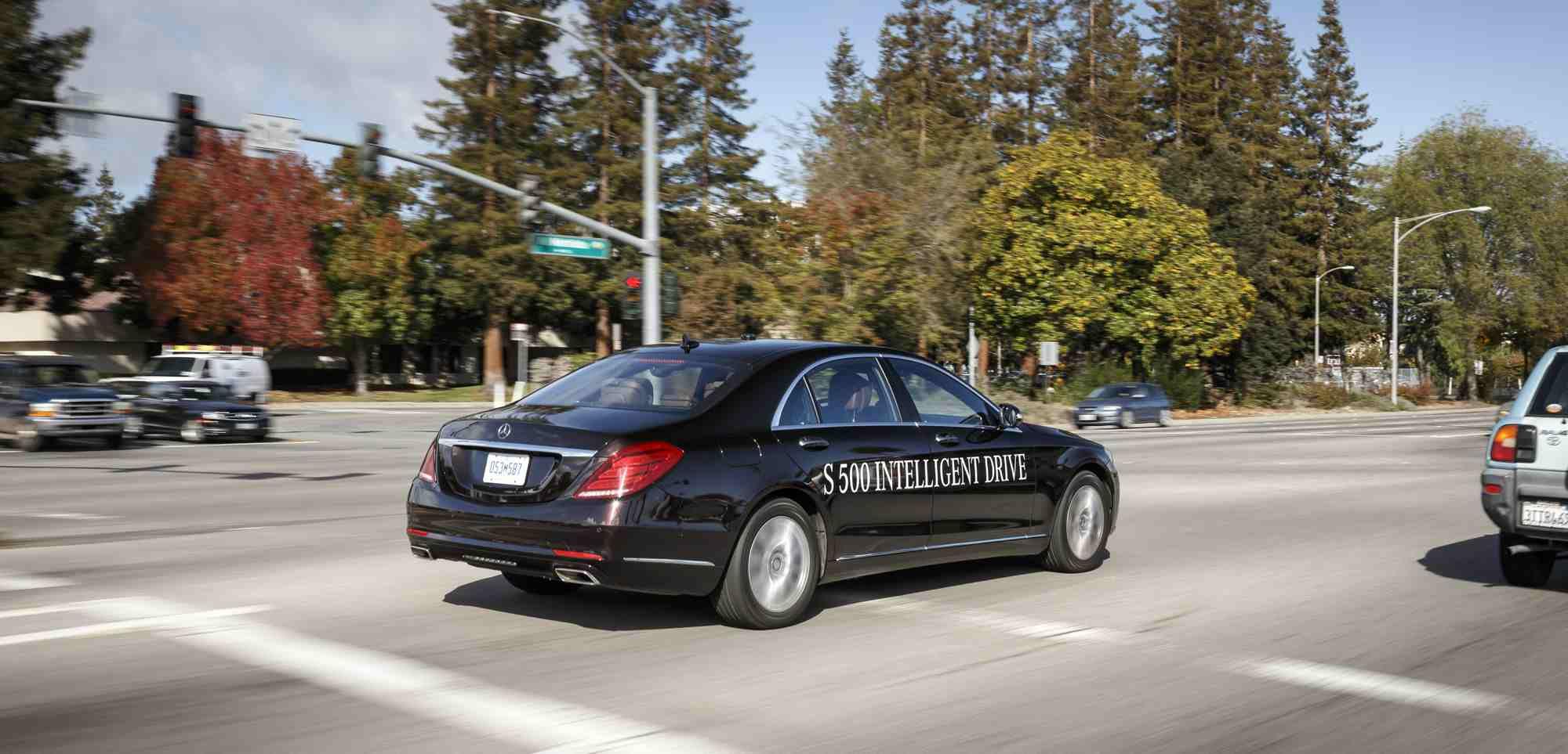 Is tesla autopilot ahead of uber google teslamotors for Mercedes benz autopilot