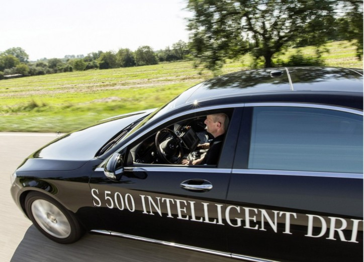 mercedes-benz s500 intelligent drive