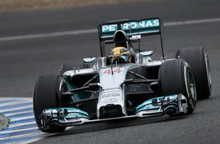 mercedes formule one